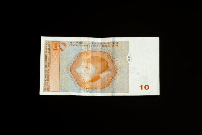 Bosnia and Herzegovina Convertible Mark note stock photos