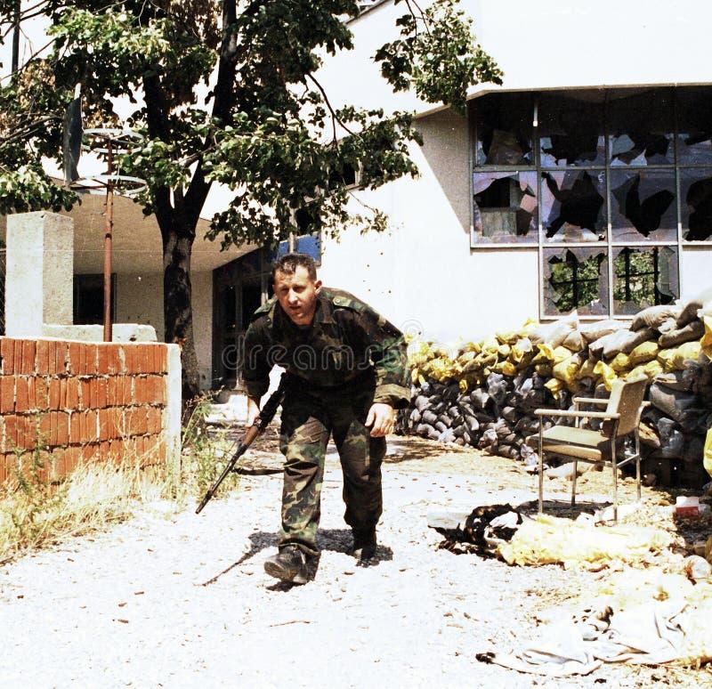 BOSNIAN CIVIL WAR royalty free stock images