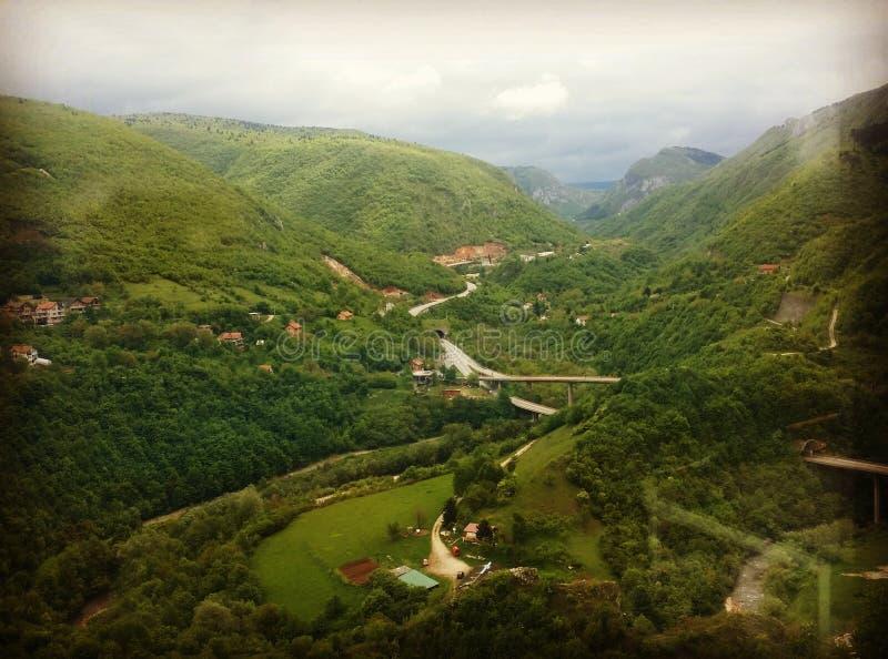 Bosnian nature. Colors of BiH stock image