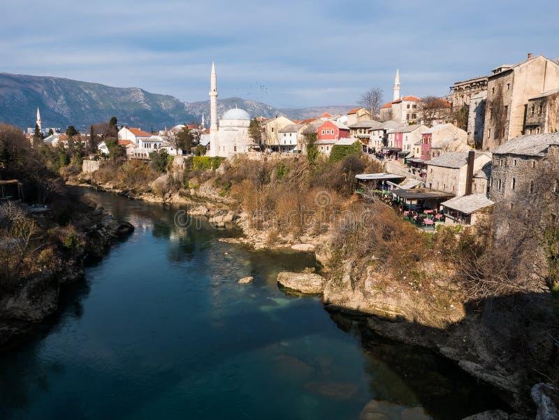 Bosnien - herzegovina mostar royaltyfri bild