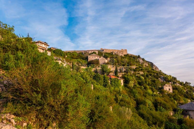 Bosnien - herzegovina pocitelj royaltyfri foto