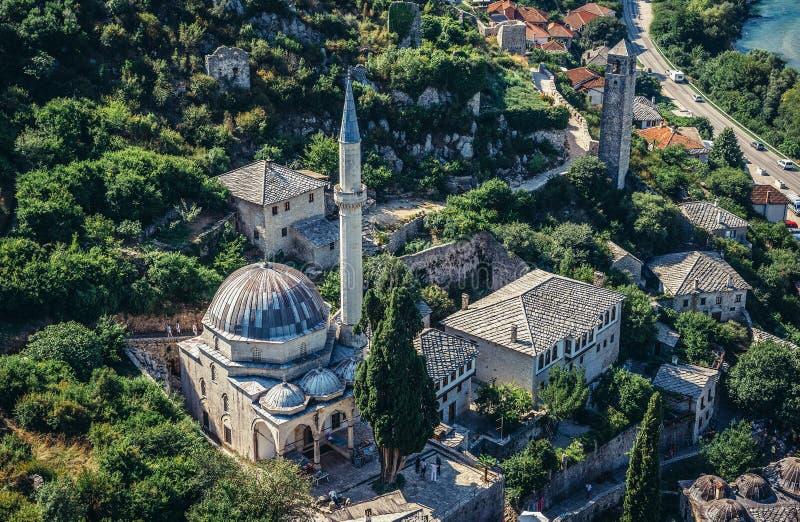 Bosnien - herzegovina pocitelj fotografering för bildbyråer