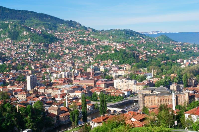 Bosnien - herzegovina sarajevo fotografering för bildbyråer
