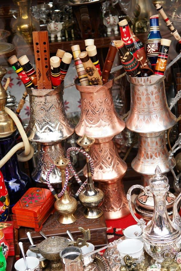 Bosnien - herzegovina sarajevo shoppar souvenir arkivfoton