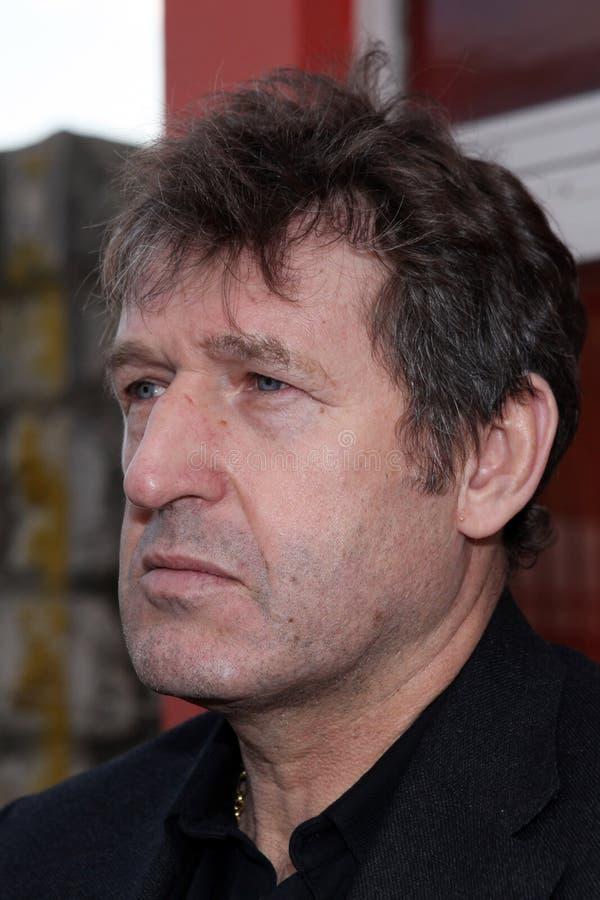 Bosnien-Herzegowinafußballteammanager Safet Susic stockfotos