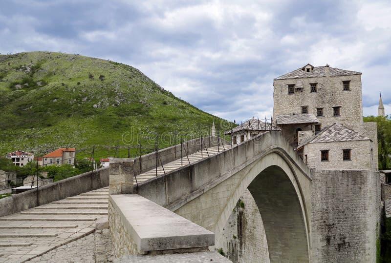 Bosnienbro herzegovina mostar arkivbild