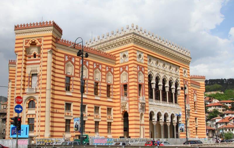 Bosnische Architektur lizenzfreies stockbild