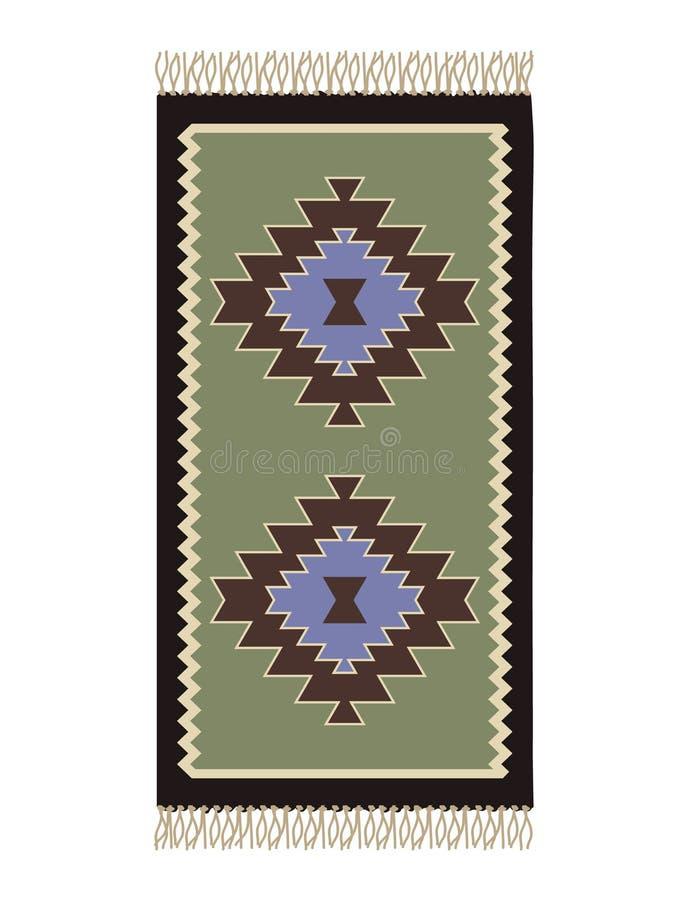 Bosnischer Teppich lizenzfreie abbildung