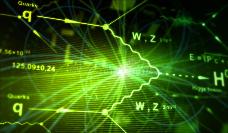 Bosone di Higgs royalty illustrazione gratis