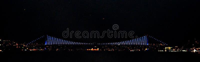 Bosphorus桥梁 库存照片