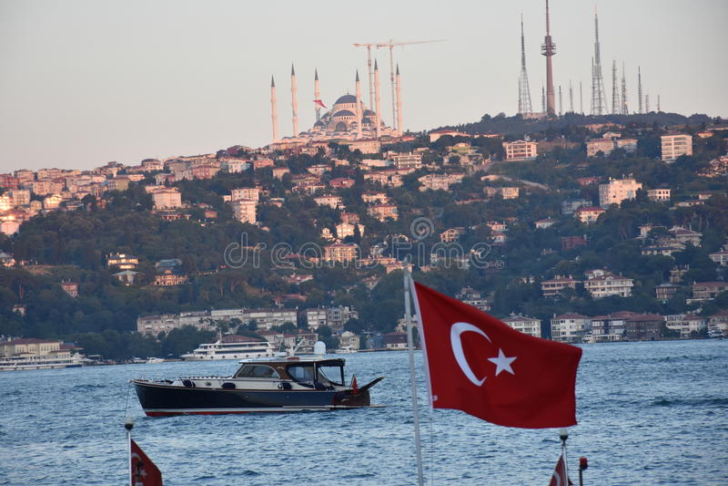 Bosphorus Ä°stanbul fotografia stock
