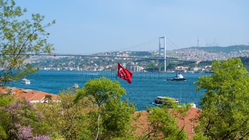 Bosphorus Стамбул Турция стоковая фотография