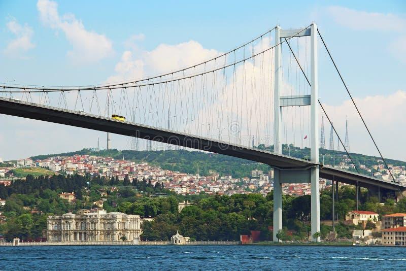 Bosphorus Brücke in Istanbul lizenzfreie stockfotografie