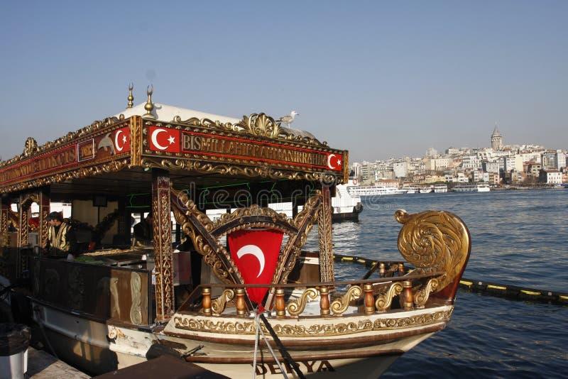 Bosphorus Brücke Istanbul die Türkei lizenzfreie stockbilder