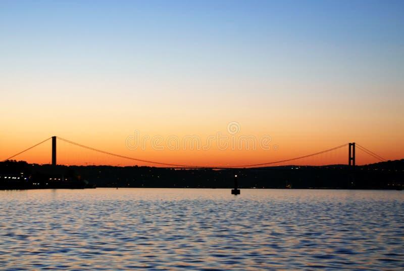 The Bosphorus Bridge Royalty Free Stock Photos