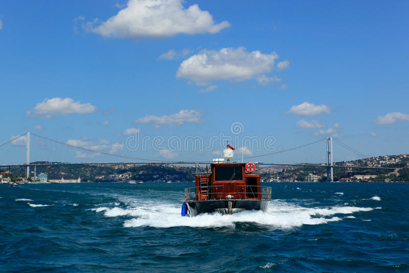 Download Bosphorus Bridge stock photo. Image of bridge, cloud - 26094476