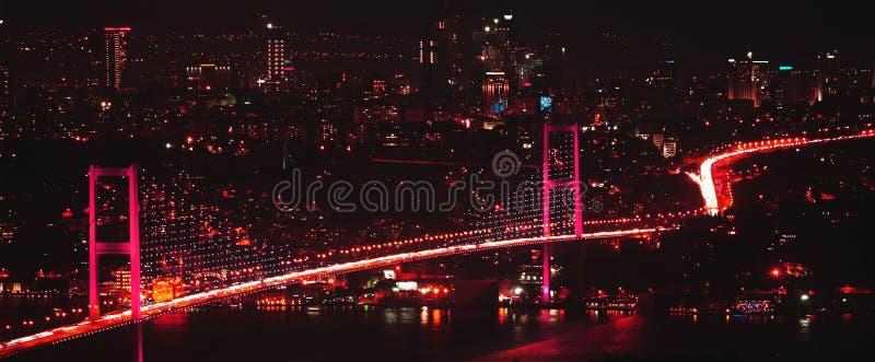Bosphorus bro arkivbild
