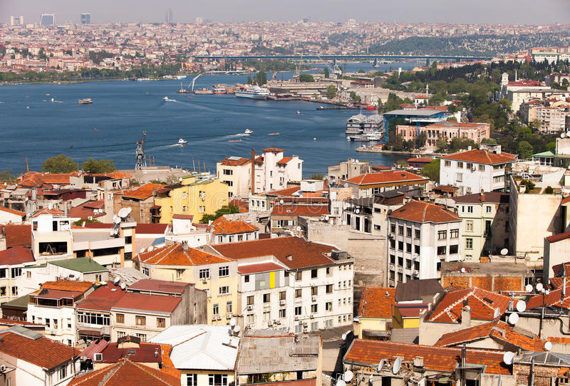 Bosphorus cieśnina zdjęcia stock