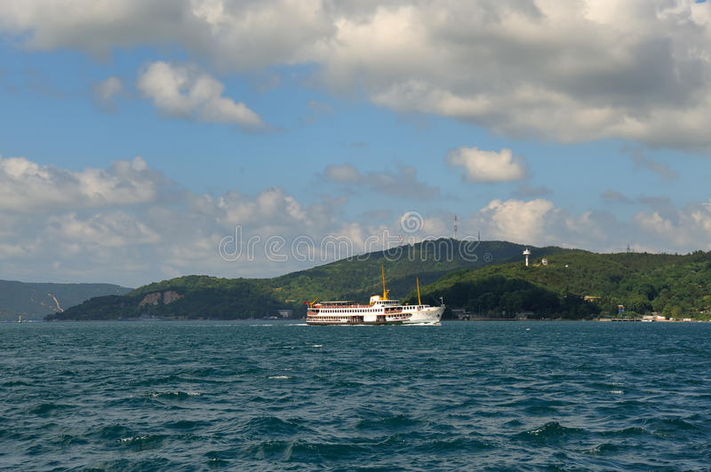 Bosphorus Dampfer stockfotografie
