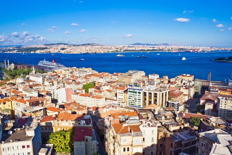 Bosphorus em Istambul imagem de stock royalty free