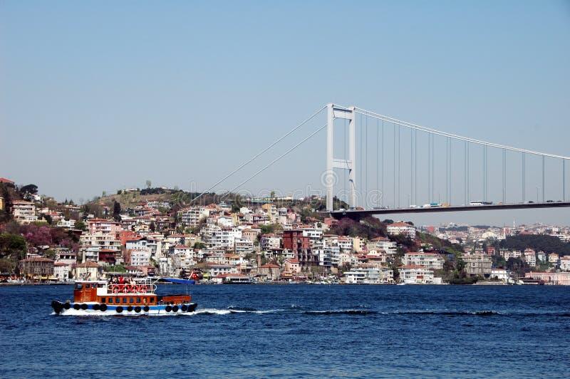 Bosphorus et Istanbul Turquie image stock