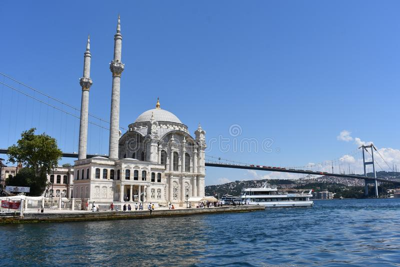 Bosphorus istanbul fotografia stock