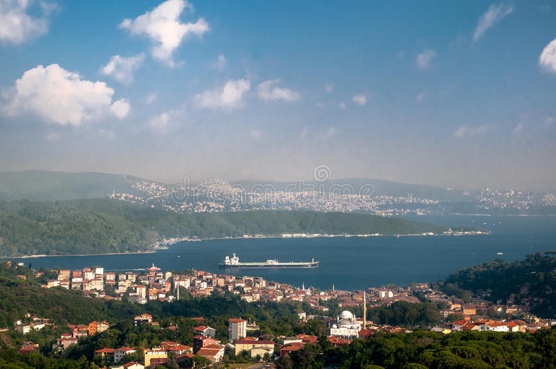 Bosphorus Istanbul stock image