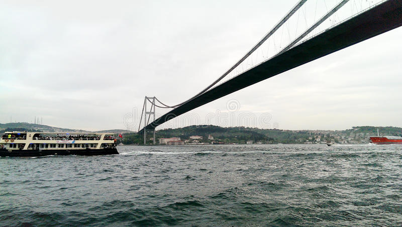 Bosphorus, Istanbul, Turkey royalty free stock photos