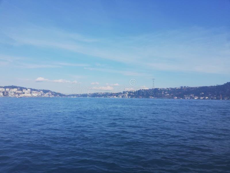 Bosphorus morze, Istanbuł zdjęcie stock