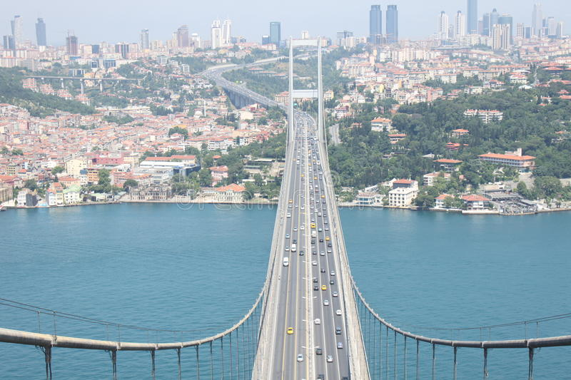 Bosphorus Most fotografia royalty free