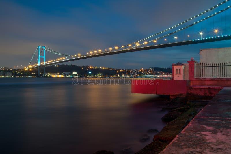 Bosphorus most - Istanbuł fotografia royalty free