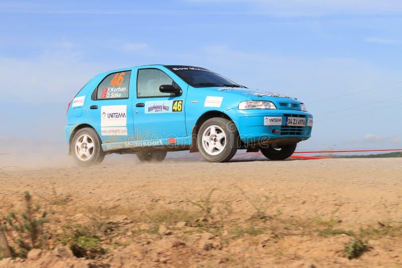 Download Bosphorus Rally 2011 ERC editorial image. Image of motorsport - 21053505