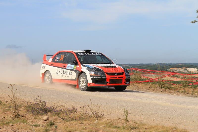 Download Bosphorus Rally 2011 ERC editorial stock image. Image of automobile - 21525374