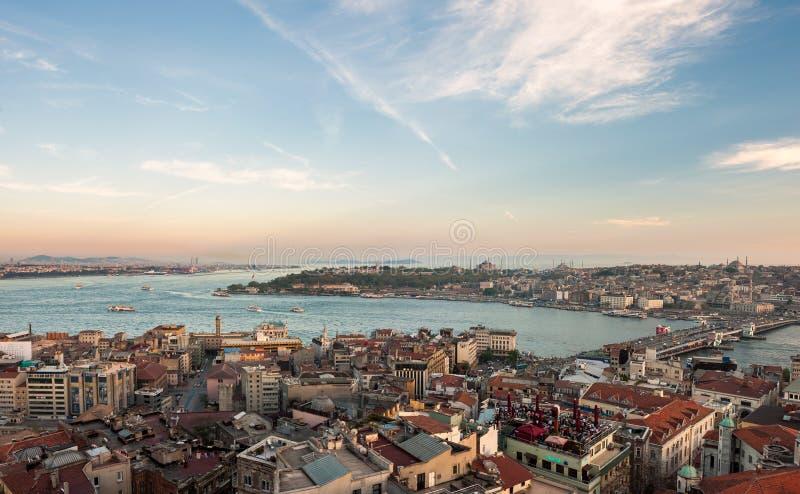 Bosphorus-Straße lizenzfreie stockbilder