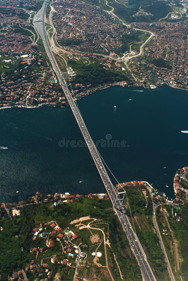 Bosphorus van Istanboel royalty-vrije stock foto