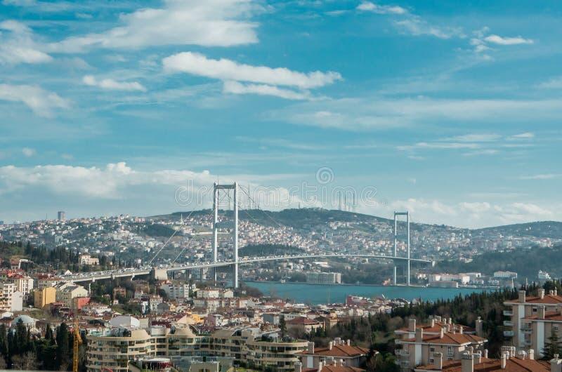 Bosphorusbrug stock foto