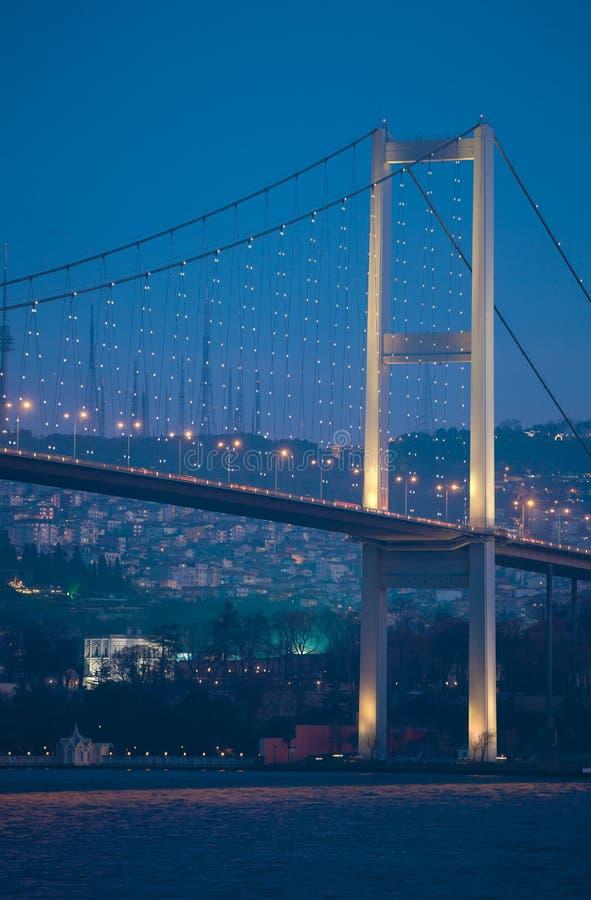 Bosphorusbrug royalty-vrije stock afbeeldingen