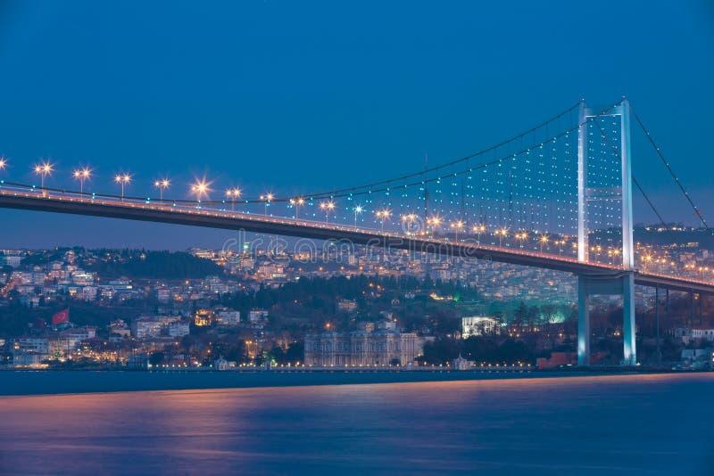 Bosphorusbrug stock fotografie