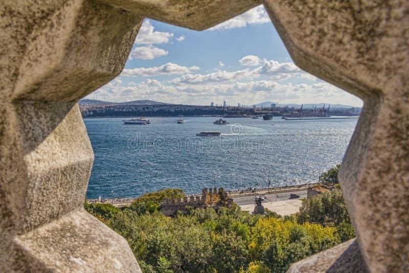 Bosporus stockfotografie