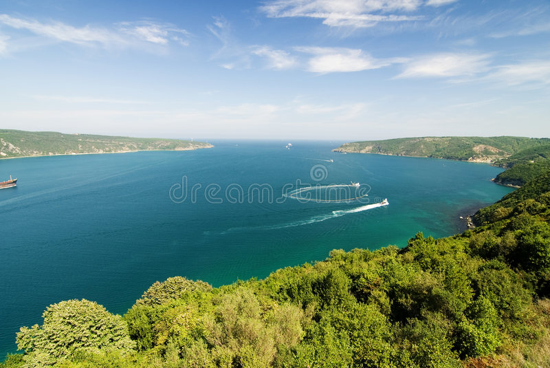 Bosporus fotografia de stock royalty free