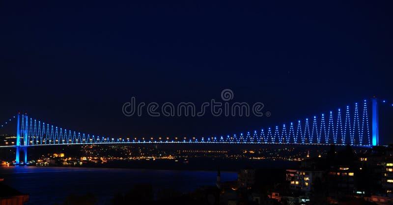 Bosporus-Brücke stockfotografie