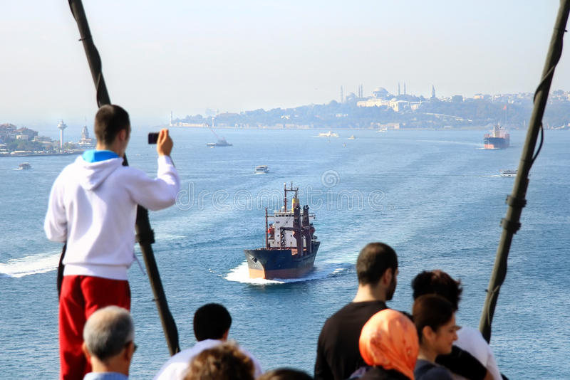 Download Bosporus From Bridge Editorial Stock Photo - Image: 20472623