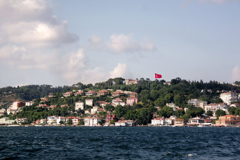 Bosporus - Istambul imagens de stock royalty free