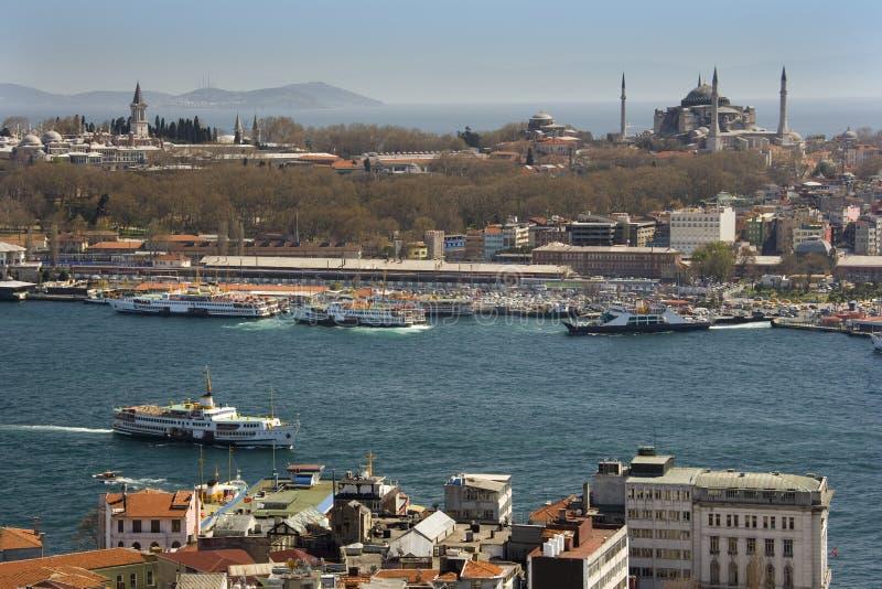 Bosporus - Istanbul - die Türkei stockfoto