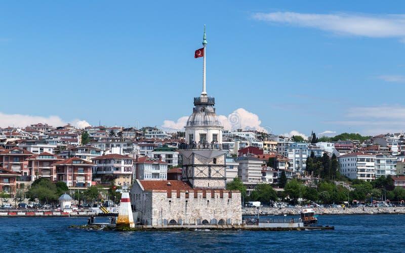 Bosporus Istanbul, die Türkei stockfotos