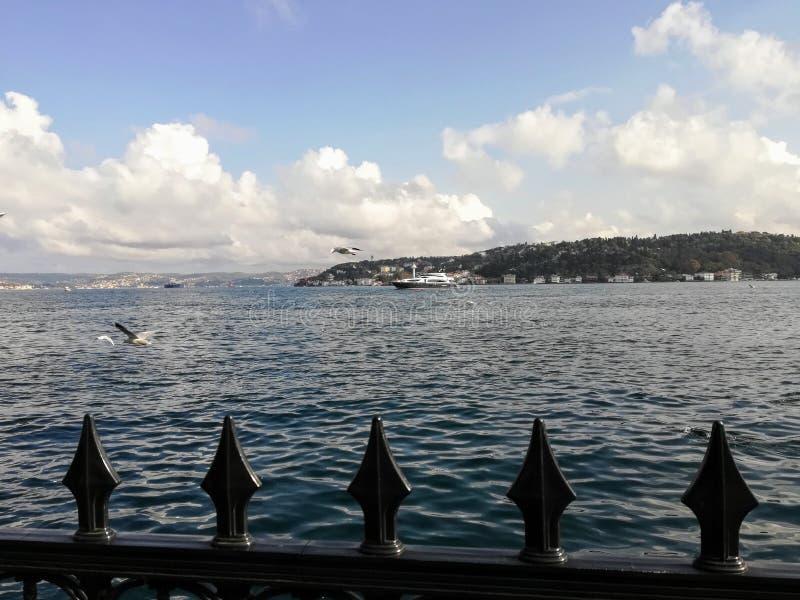 Bosporus-Meer lizenzfreie stockfotos