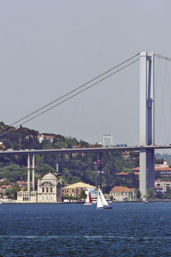 bosporus mosta meczetowy ortakoy poniższy obrazy royalty free