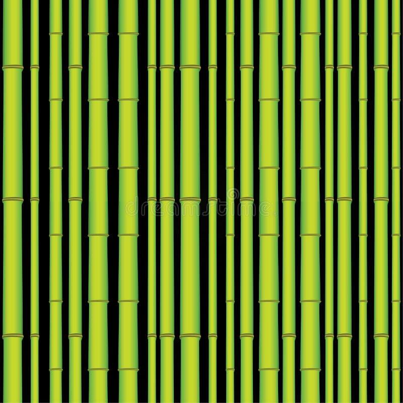 Bosque asiático inconsútil de bambú libre illustration