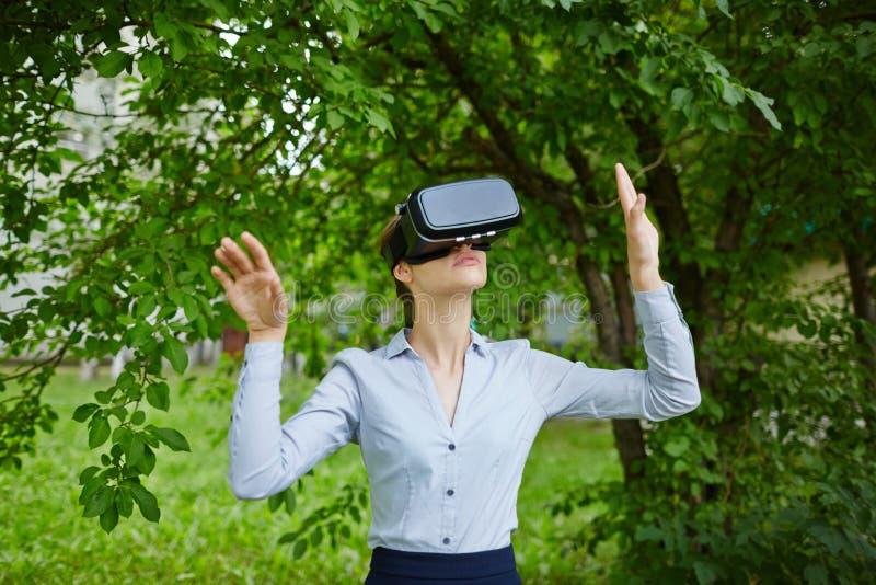 Bosque aumentado de la realidad foto de archivo libre de regalías