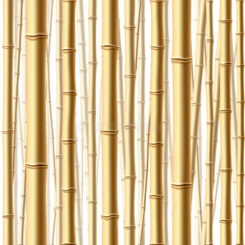 Bosque de bambú inconsútil. Vector. libre illustration